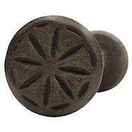 Antique Cast Iron Tudor Doorknob Sets