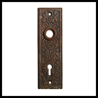 Antique Eastlake Doorplates by Sargent, Early 1900's