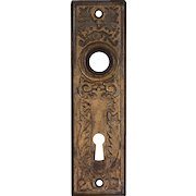 Antique Eastlake Doorplates, Late 19th Century