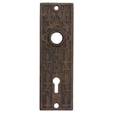 "Antique ""Fleur-De-Lis"" Doorplates by Mallory Wheeler Co."