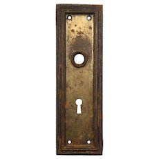 Salvaged Antique Arts & Crafts Doorplates