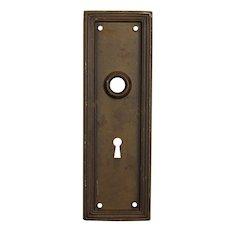Reclaimed Antique Door Knob Backplates
