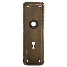 Salvaged Antique Door Knob Backplates