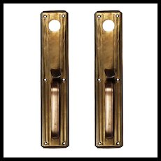 Brass Exterior Handle, Antique Hardware