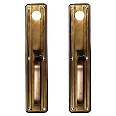 Brass Exterior Handle, Antique Hardware