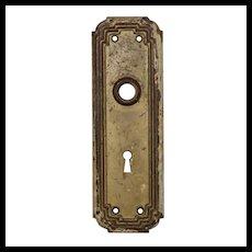 Salvaged Antique Door Knob Backplates