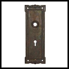 Antique Neoclassical Doorplates, c. 1905