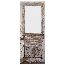 "Salvaged 32"" Eastlake Door, Late 19th Century"