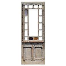 """Reclaimed Antique 34"""" Eastlake Door, 19th Century"""