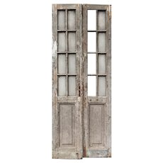 """Reclaimed 36"""" Pair of French Doors"""