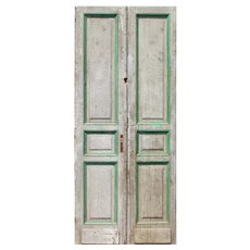 """Pair of Antique 40"""" French Doors"""