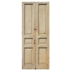 """Reclaimed 40"""" Pair of French Doors"""