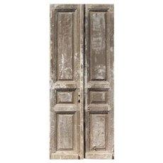 "Reclaimed 40"" Pair of Antique Doors"