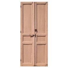 "Reclaimed 41"" Pair of Antique Doors"