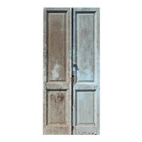 "Salvaged 42"" Pair of Antique Doors"