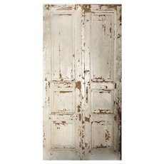 "Reclaimed 49"" Pair of Antique Doors"