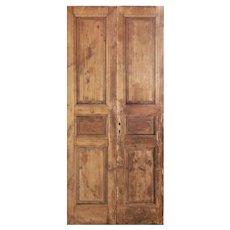 "Reclaimed 42"" Pair of Antique Doors"
