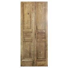 """Reclaimed 41"""" Antique Door Pair"""