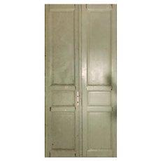 "Salvaged 50"" Pair of Antique Doors"