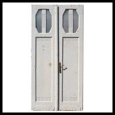 Unusual Pair of Antique Doors; Art Deco