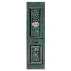 """Reclaimed 26"""" Door with Carved Details"""