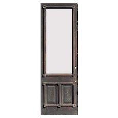 "Salvaged 31"" Eastlake Door, Late 19th Century"