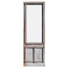 "Antique 31"" Farmhouse Door, c. 1890"