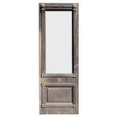 "Salvaged 34"" Eastlake Door, Late 1800's"