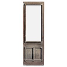 "Antique 31"" Eastlake Door, Late 19th Century"
