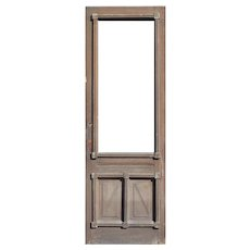 "Salvaged 32"" Eastlake Door, Late 19th Century"