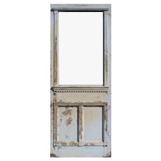 "Salvaged 31"" Eastlake Door, c.1890s"