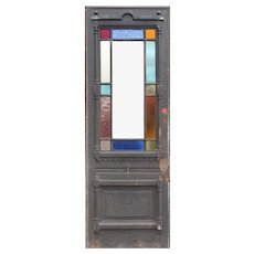 "Antique 31"" Eastlake Door, 19th Century"