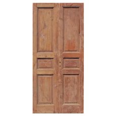 "Pair of Reclaimed 42"" Doors"