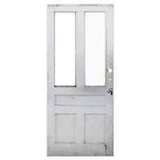 """Salvaged 35"""" Antique Farmhouse Door"""