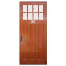 """Reclaimed 35"""" Arts and Crafts Door"""