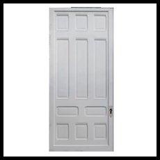 "Substantial Salvaged Antique 48"" Sliding Door"