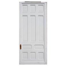 "Large Reclaimed Antique 49"" Sliding Door"
