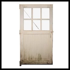 Salvaged Antique Carriage or Barn Door, Early 1900s