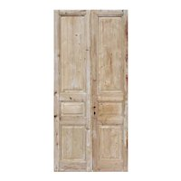 "Antique Pair of 41"" Doors"