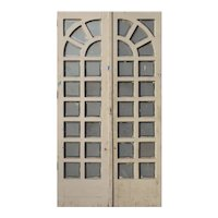 """Pair of Antique 45"""" Divided Light French Doors"""