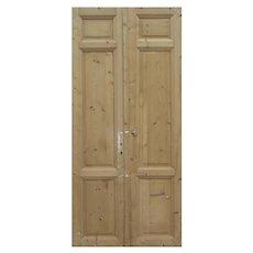 """Antique Pair of 49"""" Doors"""
