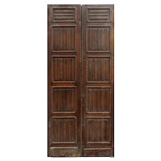 """Pair of 45"""" Antique Carved French Doors"""