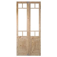 """Pair of Reclaimed 44"""" French Double Doors"""