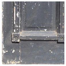 """Antique 31"""" Eastlake Door with Arched Window, c. 1880"""