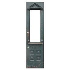 """Antique 23"""" Eastlake Walnut Door, c. 1890's"""