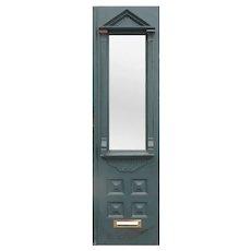 """Antique 24"""" Eastlake Walnut Door, c. 1890"""