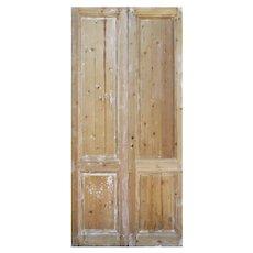 """Pair of Antique 43"""" Doors"""