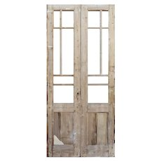 """Pair of Antique 40"""" French Double Doors"""
