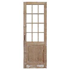 "Salvaged 28"" Door, 19th Century"