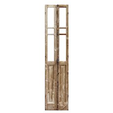 """Narrow Pair of Salvaged 19"""" French Double Doors"""